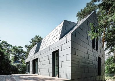 Villa-a-Berlino-facciate-metallo