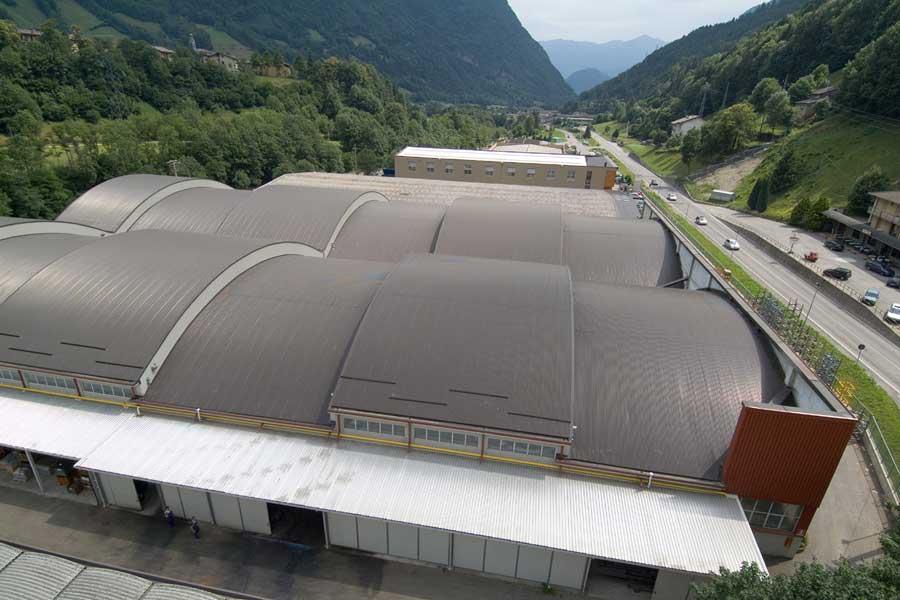 Coperture industriali in Lombardia